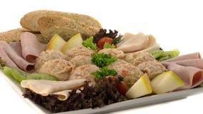 Υγιής σαλάτα τροφίμων Στοκ εικόνα με δικαίωμα ελεύθερης χρήσης