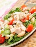 υγιής σαλάτα τροφίμων Στοκ εικόνες με δικαίωμα ελεύθερης χρήσης