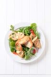 υγιής σαλάτα στοκ εικόνα με δικαίωμα ελεύθερης χρήσης