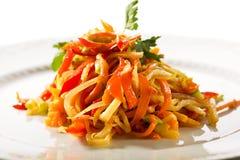 Υγιής σαλάτα βιταμινών Στοκ Εικόνα