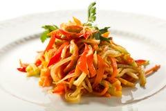 Υγιής σαλάτα βιταμινών Στοκ εικόνα με δικαίωμα ελεύθερης χρήσης