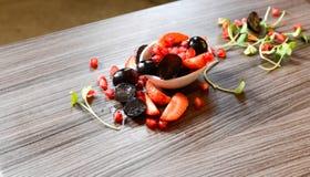 υγιής σαλάτα καρπού Στοκ Εικόνες