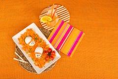 Υγιής σαλάτα καρότων Στοκ εικόνα με δικαίωμα ελεύθερης χρήσης