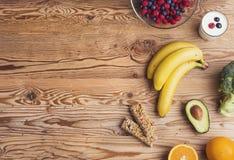 Υγιής σύνθεση τροφίμων Στοκ φωτογραφίες με δικαίωμα ελεύθερης χρήσης