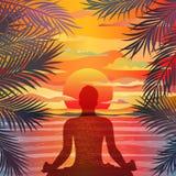 υγιής τρόπος ζωής έννοιας διανυσματική απεικόνιση