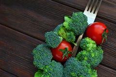 Υγιής χορτοφάγος έννοια τροφίμων με λαχανικά Στοκ εικόνες με δικαίωμα ελεύθερης χρήσης