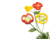 υγιής χορτοφάγος τροφίμ&omeg Στοκ Εικόνες