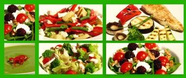 υγιή γεύματα Στοκ Εικόνα