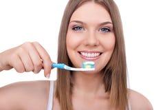 υγιή δόντια στοκ φωτογραφίες