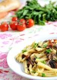 υγιή ζυμαρικά τροφίμων Στοκ Φωτογραφίες