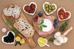 Υγιή και θρεπτικά τρόφιμα Στοκ Εικόνα