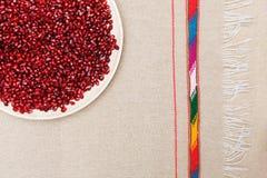 Υγιή και νόστιμα χορτοφάγα τρόφιμα: βιταμίνες και αντιοξειδωτικοοι σε ένα πιάτο Στοκ φωτογραφίες με δικαίωμα ελεύθερης χρήσης