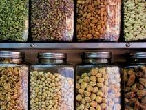 Υγιή καρύδια και ξηροί καρποί Στοκ φωτογραφίες με δικαίωμα ελεύθερης χρήσης