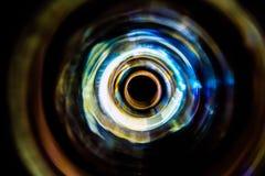 Υγιή κύματα στο σκοτάδι Στοκ Εικόνες
