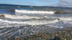 Υγιή κύματα Puget Στοκ εικόνα με δικαίωμα ελεύθερης χρήσης