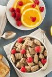 Υγιή ολόκληρα τεμαχισμένα σίτος δημητριακά Στοκ εικόνα με δικαίωμα ελεύθερης χρήσης
