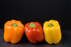υγιή πιπέρια τροφίμων Στοκ Εικόνες