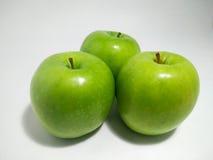 Υγιή πράσινα μήλα Στοκ φωτογραφία με δικαίωμα ελεύθερης χρήσης