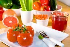 υγιή πρόχειρα φαγητά Στοκ Εικόνες