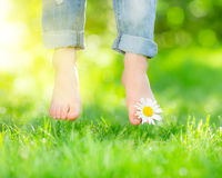 Υγιή πόδια στοκ εικόνες