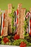 υγιή σάντουιτς Στοκ Φωτογραφία