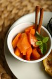 Υγιή τρόφιμα από μια ψημένη κολοκύθα Στοκ φωτογραφία με δικαίωμα ελεύθερης χρήσης