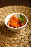 Υγιή τρόφιμα από μια ψημένη κολοκύθα Στοκ Εικόνες