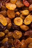 Υγιή τρόφιμα διατροφής. Ξηρό σταφύλι σταφίδων ως σύσταση υποβάθρου Στοκ Φωτογραφίες