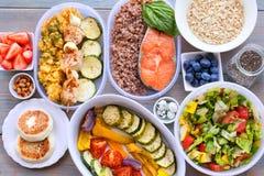 Υγιή τρόφιμα ικανότητας Στοκ εικόνα με δικαίωμα ελεύθερης χρήσης