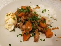 Υγιή τρόφιμα κολοκύθας Στοκ εικόνα με δικαίωμα ελεύθερης χρήσης