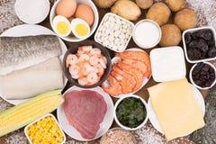 Υγιή τρόφιμα πλούσια σε ιώδιο στοκ φωτογραφία με δικαίωμα ελεύθερης χρήσης