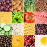 Υγιή υπόβαθρα τροφίμων Στοκ Φωτογραφίες