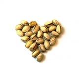 Υγιή φυστίκια καρδιών Στοκ φωτογραφία με δικαίωμα ελεύθερης χρήσης