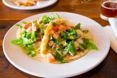 Υγιή ψάρια Tacos Στοκ Φωτογραφία