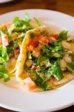 Υγιή ψάρια Tacos Στοκ φωτογραφία με δικαίωμα ελεύθερης χρήσης