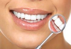 υγιή δόντια Στοκ Εικόνες
