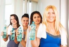 Υγιείς γυναίκες ικανότητας Στοκ Φωτογραφία