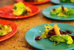 Υγιείς θερινές σαλάτες Στοκ Φωτογραφία