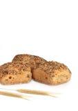 υγιείς ρόλοι ψωμιού στοκ εικόνα
