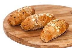 Υγιείς σπόροι δημητριακών ψωμιού τροφίμων Στοκ Εικόνες