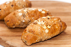 Υγιείς σπόροι δημητριακών ψωμιού τροφίμων Στοκ εικόνες με δικαίωμα ελεύθερης χρήσης