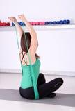 Υγιείς τρόποι ζωής άσκησης ικανότητας κοριτσιών Στοκ εικόνες με δικαίωμα ελεύθερης χρήσης