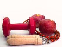 Υγιεινές διατροφές της Apple, υγιείς Στοκ Εικόνες
