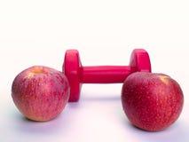 Υγιεινές διατροφές της Apple, υγιείς Στοκ εικόνες με δικαίωμα ελεύθερης χρήσης