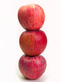 Υγιεινές διατροφές της Apple Στοκ φωτογραφία με δικαίωμα ελεύθερης χρήσης