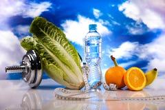 Υγιεινή έννοια, διατροφή και ικανότητα τρόπου ζωής στοκ εικόνα