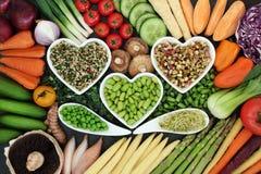 Υγιεινή διατροφή Superfood στοκ φωτογραφία με δικαίωμα ελεύθερης χρήσης
