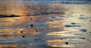 Υγρή άμμος στον ήλιο Στοκ φωτογραφία με δικαίωμα ελεύθερης χρήσης