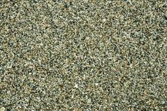 Υγρή γκρίζα κινηματογράφηση σε πρώτο πλάνο άμμου, ταπετσαρία, σιτάρια της άμμου Στοκ Εικόνα