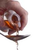 Χορήγηση της δόσης των φαρμάκων Στοκ εικόνα με δικαίωμα ελεύθερης χρήσης